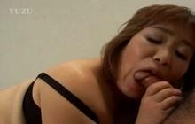 Hairy Japanese Kiriko Nakamoto fucked POV