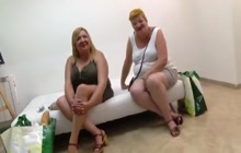 Two BBWs on a blind date