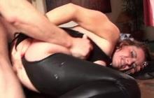 Mature slut anal fucked